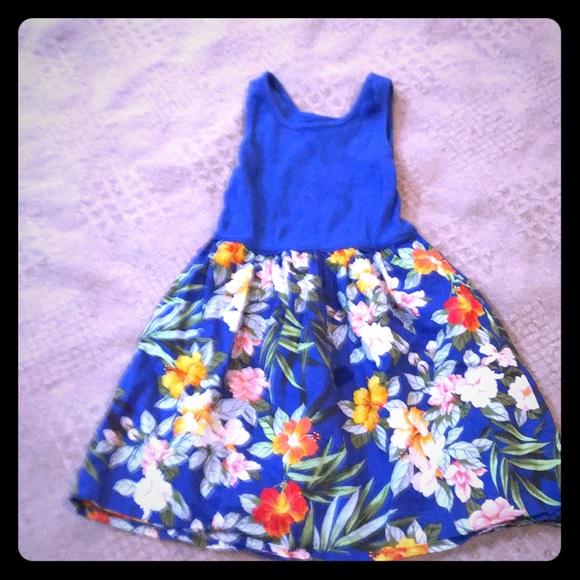 Gap Dresses Pretty Flower Dress By Poshmark